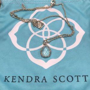 Kendra Scott Kiri teardrop necklace